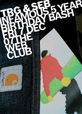REMINDER: diseara in web club INFAMOUS implinesc 5 ani