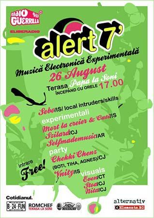 Alert 7 – muzica experimentala & visuals // vama veche