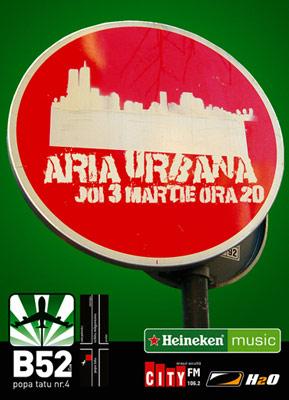 Aria Urbana – concert in B52
