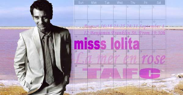 Misss Lolita @ TAFC from August 16th