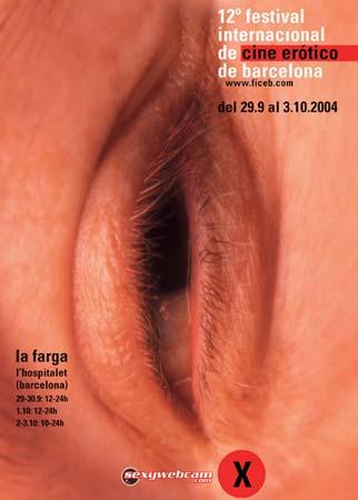 Afisul festivalului de film erotic din Barcelona