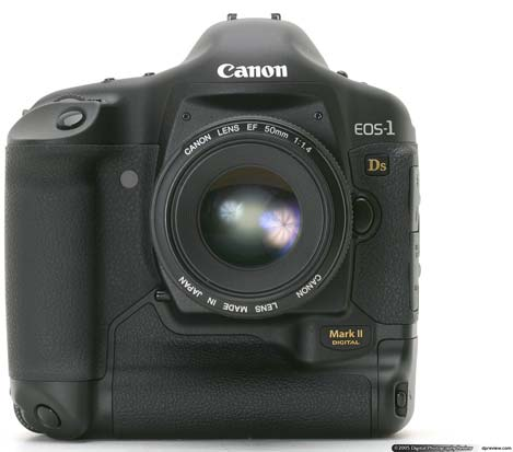 Canon EOS-1Ds Mark II review