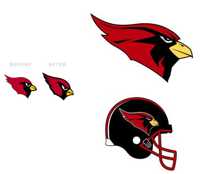Arizona Cardinals – logo nou