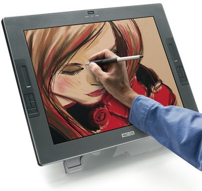 Wacom Cintiq 21UX Touch Screen Flat-Panel