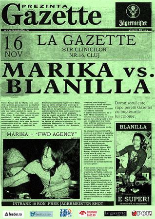 MARIKA & BLANILLA (Cluj)