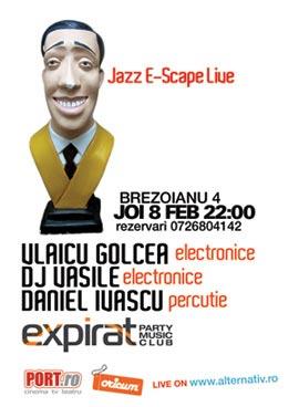 Suie Paparude si Jazz E-Scape Live in expirat