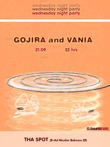 Gojira/Vania and The Social @ Tha Spot 21/9/05