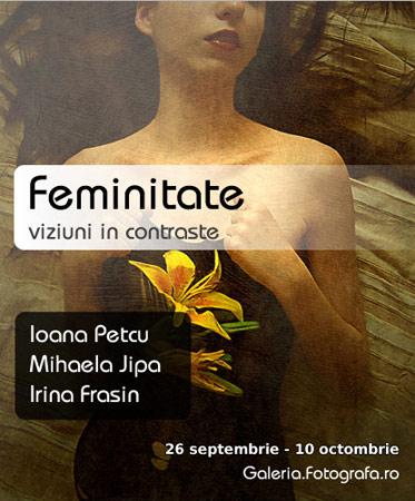 Feminitate – viziuni si contraste