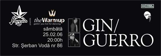 gin & guerro in propaganda