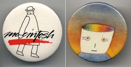 "Original Macintosh ""Mister Macintosh Logo"""
