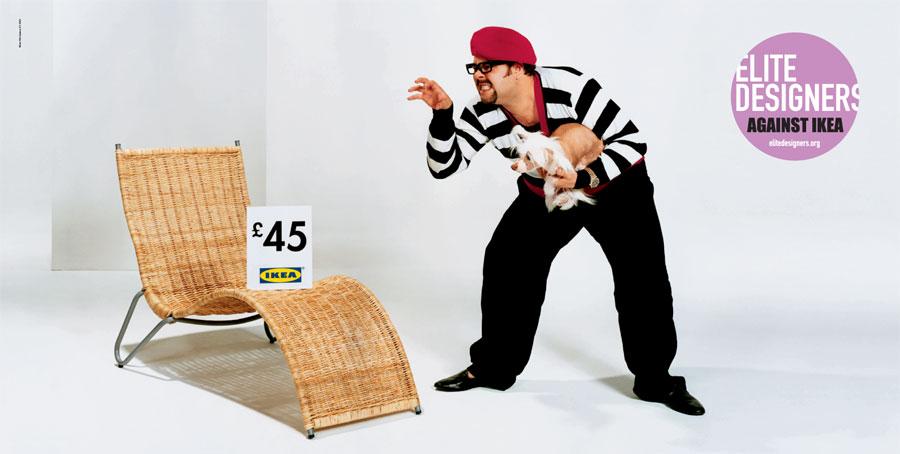 Elite designers against IKEA