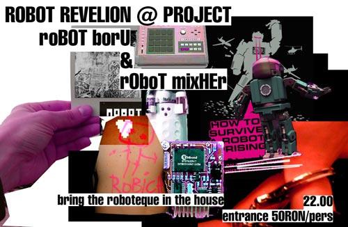 ROBOT REVELION @ PROJECT
