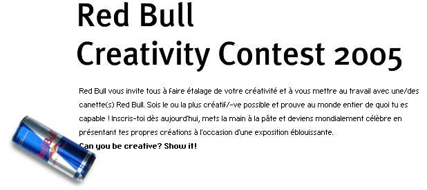 RedBull – Creativity Contest