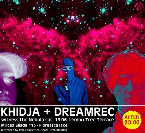 KHIDJA + DREAMREC @ terasa LEMONTREE