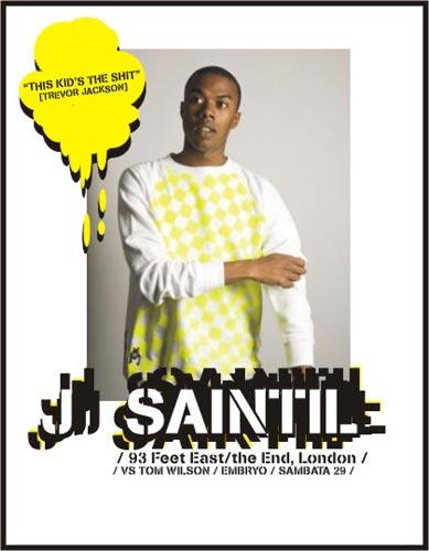 J Saintil (UK) *Rub-A-Dub-Disco Party* @Embryo
