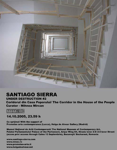 SANTIAGO SIERRA – UNDER DESTRUCTION #2