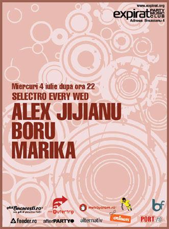 Alex Jijianu + Boru + Marika @ Expirat