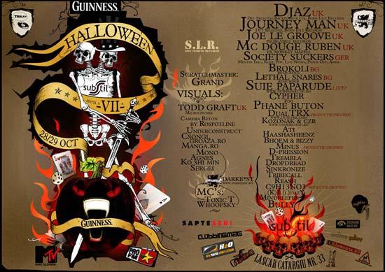 Substil VII – Guinness Halloween