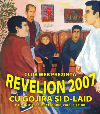 REVELION LA WEB CLUB cu Gojira