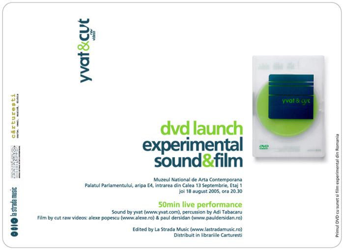 Lansare DVD – yvat & cut-raw videos