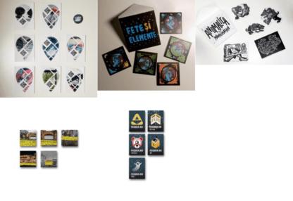 28 Stickers BUNDLE: Un-hidden Bucharest, Maria Bălan, Capitol & feeder.ro