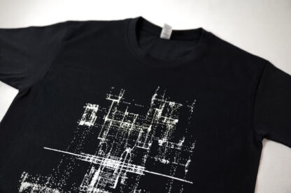 Audio Generated Pixel Art Men's T-shirt by Alex Halka for feeder.ro