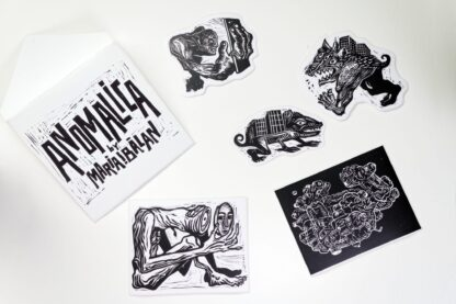 ANOMALICA Sticker Pack by Maria Bălan