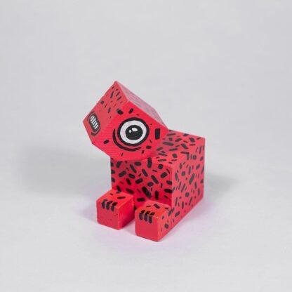 Pisica Pătrată x Un-hidden Bucharest Art Toy Tiger Lilly