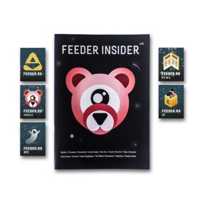 feeder insider #02 booklet + stickers pack