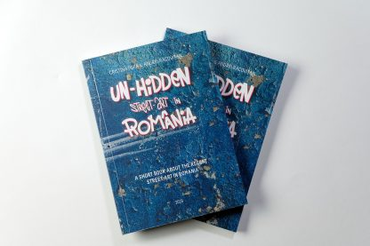 Un-hidden Street Art in Romania book bundle
