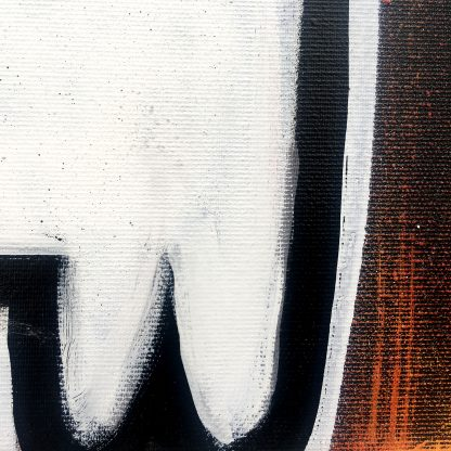 Time (Timp) by AEUL   original spray painting and acrylics on canvas