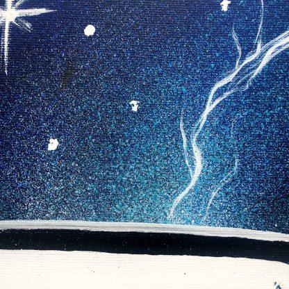 AEUL - Time & Space (Timpul și Spațiul) | original spray painting and acrylics on canvas