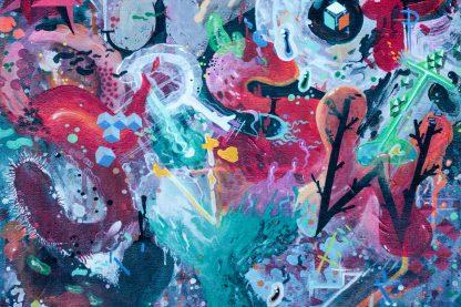 Homeboy LDJ - Alphabet 2011 painting