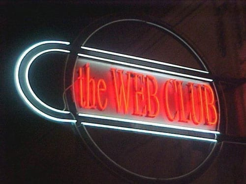 the WEB CLUB 8 years anniversary