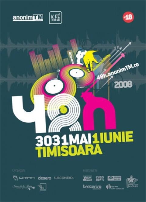 48 de ore de muzica la Timisoara