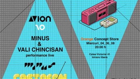 MINUS & VALI CHINCISAN @ AVion 10
