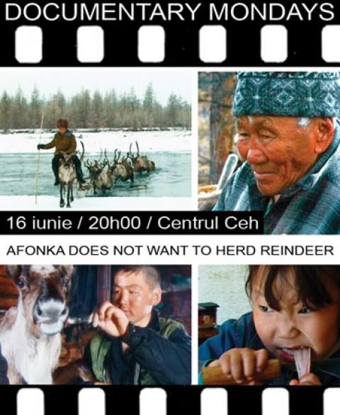 Afonka does not want to herd reindeer