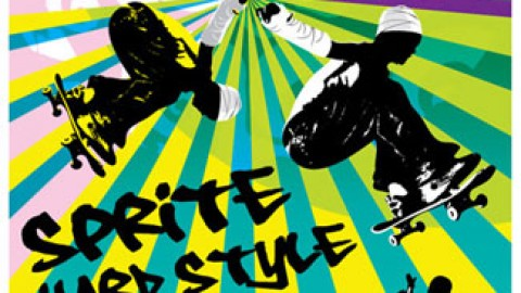 Sprite Hardstyle: Skateboarding Session