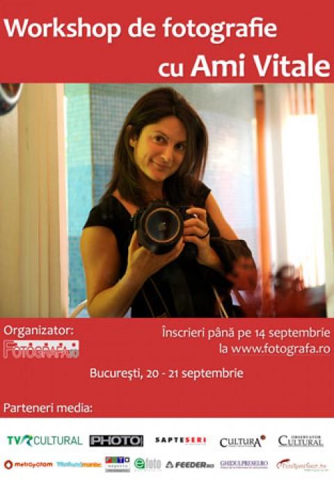 Workshop de fotografie cu Ami Vitale