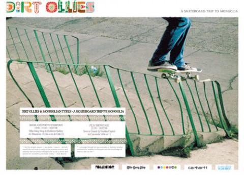 Dirt Ollies & Mongolian Tyres