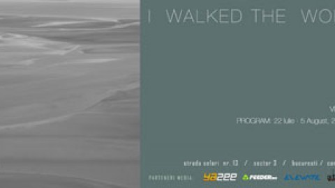 I walked the world alone