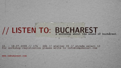 Listen to Bucharest