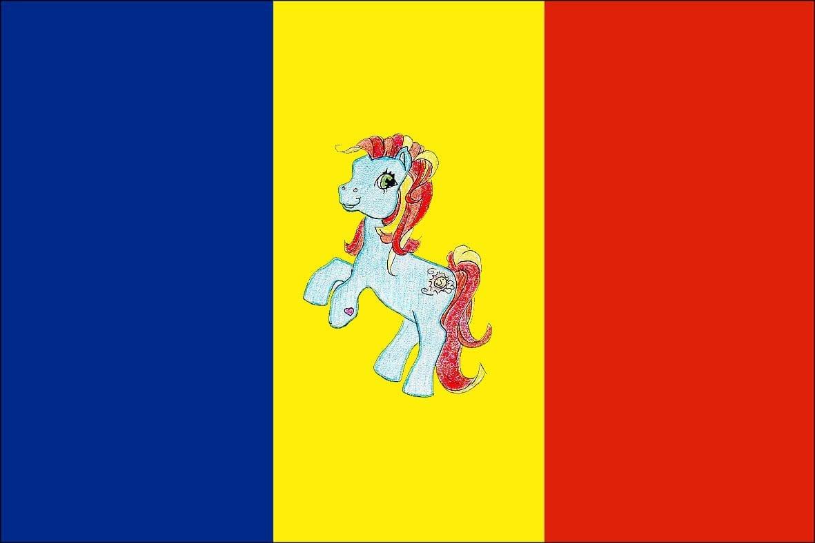 RomaniasPonyFlag