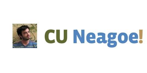 Cu Neagoe!