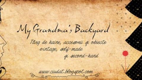 1 an de MY GRANDMA'S BACKYARD