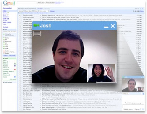 Gmail are video chat