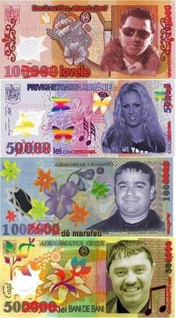bancnote manele