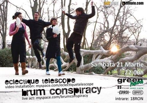 Eclectique Telescope & Brum Conspiracy