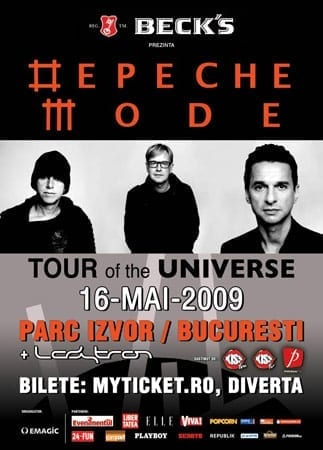 depeche mode bucuresti romania