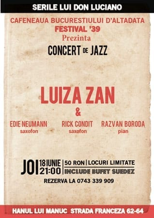 Luiza Zan @ Serile lui Don Luciano
